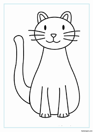 We are always adding new ones, so make sure to come back and check us out or. Coloring Pages For Kids Sleeping Cat Easy Coloring Pages Kids Printable Coloring Pages Cat Coloring Page