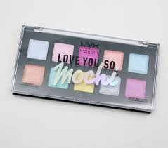 nyx love you so mochi electric pastels palette