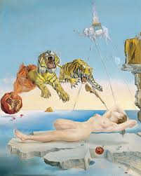 of a bee around a pomegranate a second before wakening up by salvador dali at the thyssen bornemisza museum how can you travel to spain without seeing