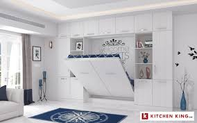 Design Folding Bed Space Saving Murphy Smart Wall Bed Solutions Kitchen King Uae