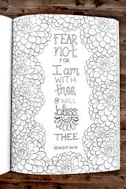My Favorite Kjv Verses To Color Adult Coloring Book Clr023