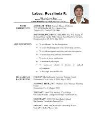 Sample Caregiver Resume No Experience Caregiver Resume Samples Caregiver Resume Sample Yralaska 24