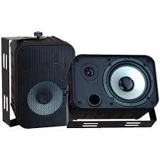 pyle 6 5 in indoor outdoor waterproof speaker