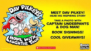 meet captain underpants and dog man creator dav pilkey and hear his inspiring story get your favorite books signed take a photo with captain underpants