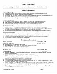 Pleasant Manufacturing Resume Samples With Sample Manufacturing