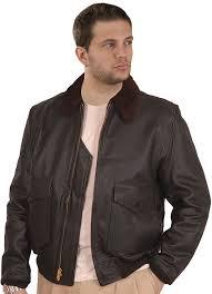 details about g1 navy goatskin leather er jacket