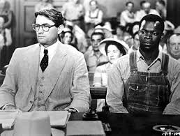 to kill a mockingbird by harper lee an essay on how justice and  screenshot of to kill a mockingbird an american movie issued in 1962