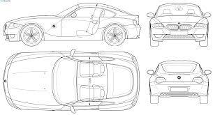 Blueprint Car Google 검색 디지털디자인 Bmw Z4 Bmw Coupe Bmw Z4 M