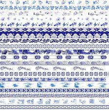 Blue And White China Pattern Custom 48Designs Blue And White China Porcelain Pattern Japanese Washi