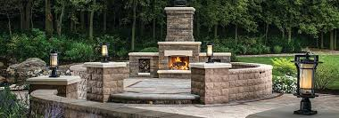 diy outdoor fireplace kit building your own