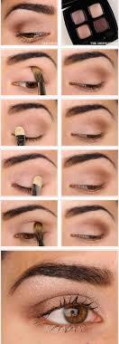 report for natural eye makeup