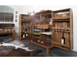 Barschrank Bar Massivem Holz Palisander Amazonde Küche