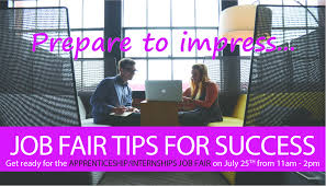 job fair tips for success apprenticeship internships sonoma job fair tips for success apprenticeship in