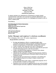 McCray Mgt Cvr And Resume Best Resume Or Cv
