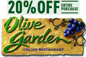 deals at olive garden. Olive Garden Coupons Deals At