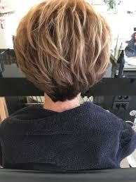 Kort Bruin Haar Met Blonde Highlights Great Hair From Behind In