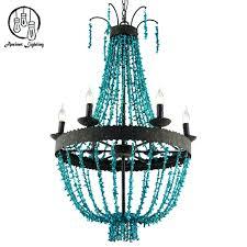 chandeliers turquoise beaded chandelier light fixture turquoise beaded chandelier light chandelier beaded turquoise wood beaded