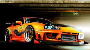 We have a massive amount of desktop and mobile if you're looking for the best toyota supra wallpaper then wallpapertag is the place to be. Pin Oleh Cool Wallpapers Di Risunki Avto Gambar Gambar Anime