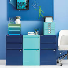 Five Drawer Filing Cabinet Bisley Aqua 5 Drawer Cabinet The Container Store