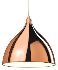 cafe copper single light pendant firstlight lighting