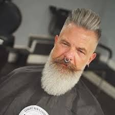 grey hairstyles for men over 60 years
