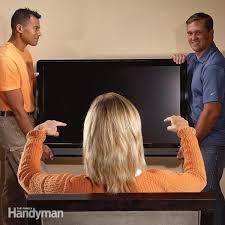 how to hang a flat screen tv