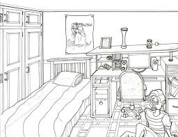 interior design bedroom drawings. Bedroom Drawings Photo 3 Of Interior Design Sketches One Point Perspective Net Marvelous .