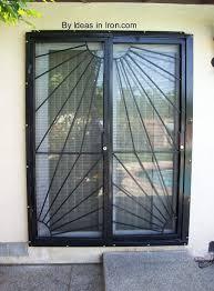 photos of patio door security