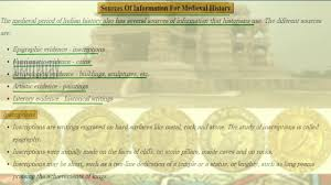 Flow Chart Of Medieval Period 7 Class Vii Cbse Social Where When And How Medieval Period In India