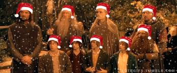 the lord of the rings happy holidays gif