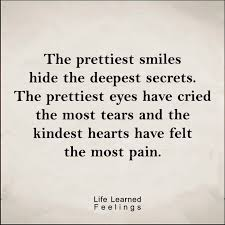 Most Popular Quotes Cool Most Popular Love Quotes The Prettiest Smiles Hide The Deepest