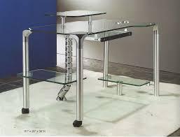 modern glass computer desk cr55 desks in ideas 18