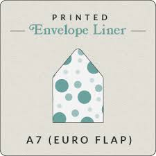 a 7 envelope print your own design a7 euro flap envelope liner