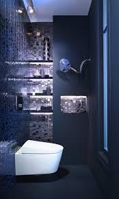 Blaue Fliesen Fürs Badezimmer 25 Moderne Beispiele Avec Bad Grau