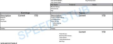 independent contractor pay stub template paycheck stubs employment verification check stubs proof of income