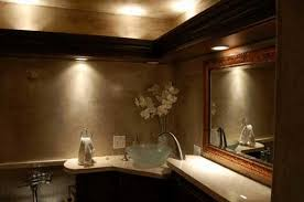 powder room bathroom lighting ideas. Nice Lighting Design Bathroom And Powder Rooms Can Be Dramatic Spaces Here A Homeowner Has Chosen Room Ideas N