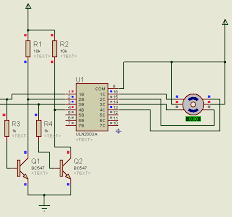stepper motor interfacing microcontroller tutorial center 2 wire connection of unipolar stepper motor simulation
