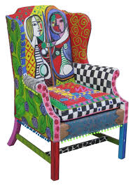 brightly painted furniture. colorful painted furniture 1000 images about folk hand chairs brightly h
