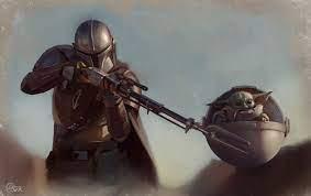 Mandalorian Baby Yoda Star Wars ...