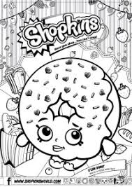 Small Picture Shopkins Coloring Pages Season 1 DLish Donut Made by A Princess