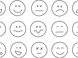 emoji faces printable coloring pages free best sheet stock