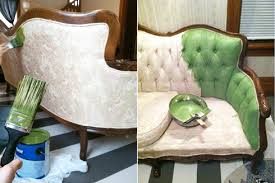 fabric paint for furniturePainting fabric on furniture  bfarhardesign