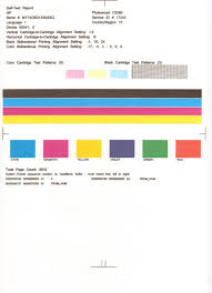 Small Picture Hp Color Printer Test Page 10821