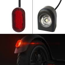 Xiaomi M365 Front Light Details About Headlight Taillight Stoplight Brake Lights For Xiaomi M365 Electric Scooter