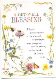 Get Well Christian Quotes Best Of A GET WELL BLESSING GREETING CARD Pinterest Cards Christian And