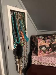 how to make diy necklace holder