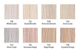 Wella Toner Chart Before And After Wella Toners In 2019 Wella Color Charm Toner Balayage