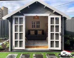 sd kitset timber garden shed