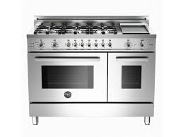 6 burner stove with double oven. Plain Burner Bertazzoni 48 6Burner  Griddle Electric SelfClean Double Oven Stainless To 6 Burner Stove With A