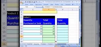 ms excel inventory template how to create an excel inventory template with running totals